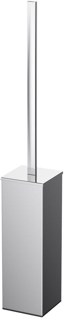Ершик для унитаза Lineag Tiffany Un, напольный, цвет: хром. TIF 019610539В течение 20 лет компания Lineag разрабатывает и производит эксклюзивные аксессуары для ванной комнаты, используя современные технологии и высококачественные материалы. Каждый продукт Lineag произведен исключительно в Италии. Изысканный дизайн аксессуаров Lineag создает уникальную атмосферу уюта и роскоши в вашей ванной.