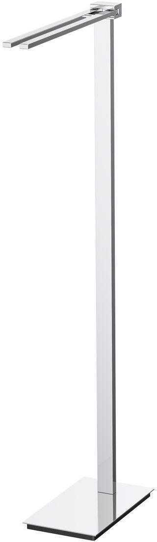 Стойка с держателем полотенец Lineag Tiffany Un, цвет: хром. TIF 020М 2472_серый мраморВ течение 20 лет компания Lineag разрабатывает и производит эксклюзивные аксессуары для ванной комнаты, используя современные технологии и высококачественные материалы. Каждый продукт Lineag произведен исключительно в Италии. Изысканный дизайн аксессуаров Lineag создает уникальную атмосферу уюта и роскоши в вашей ванной.