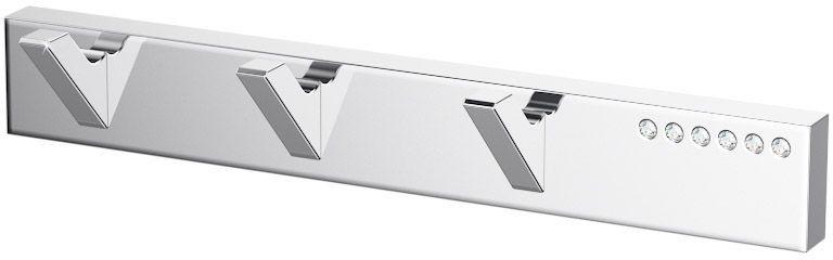 Планка с тремя крючками Lineag Tiffany Lux, цвет: хром. TIF 902314-03В течение 20 лет компания Lineag разрабатывает и производит эксклюзивные аксессуары для ванной комнаты, используя современные технологии и высококачественные материалы. Каждый продукт Lineag произведен исключительно в Италии. Изысканный дизайн аксессуаров Lineag создает уникальную атмосферу уюта и роскоши в вашей ванной.