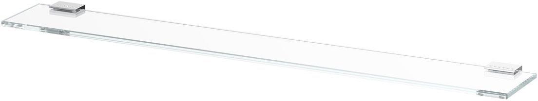 Полка для ванной Lineag Tiffany Lux, 80 см, цвет: хром. TIF 912RYN 004В течение 20 лет компания Lineag разрабатывает и производит эксклюзивные аксессуары для ванной комнаты, используя современные технологии и высококачественные материалы. Каждый продукт Lineag произведен исключительно в Италии. Изысканный дизайн аксессуаров Lineag создает уникальную атмосферу уюта и роскоши в вашей ванной.