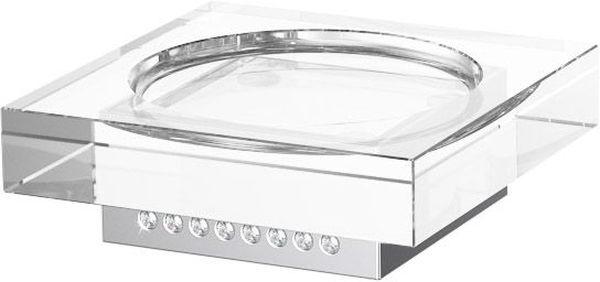 Мыльница для ванной Lineag Tiffany Lux Un, настольная, цвет: хром. TIF 917VIZ 027В течение 20 лет компания Lineag разрабатывает и производит эксклюзивные аксессуары для ванной комнаты, используя современные технологии и высококачественные материалы. Каждый продукт Lineag произведен исключительно в Италии. Изысканный дизайн аксессуаров Lineag создает уникальную атмосферу уюта и роскоши в вашей ванной.