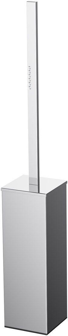 Ершик для унитаза Lineag Tiffany Lux Un, напольный, цвет: хром. TIF 919PH6468В течение 20 лет компания Lineag разрабатывает и производит эксклюзивные аксессуары для ванной комнаты, используя современные технологии и высококачественные материалы. Каждый продукт Lineag произведен исключительно в Италии. Изысканный дизайн аксессуаров Lineag создает уникальную атмосферу уюта и роскоши в вашей ванной.
