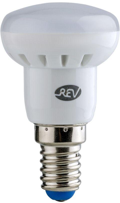 Лампа светодиодная REV, теплый свет, цоколь E14, 3W. 32361 732361 7Энергосберегающая светодиодная лампа REV используется как в бытовых осветительных приборах, так и для освещения общественных и служебных помещений. Потребляемая мощность энергосберегающих ламп в 5-10 раз ниже, чем у обычных ламп накаливания при той же интенсивности свечения. Энергосберегающая светодиодная лампа в форме R39 теплого свечения. Интенсивность свечения аналогична обычной лампе накаливания мощностью 25 Вт. Срок службы 30 000 часов. Номинальное напряжение 220-240 В.