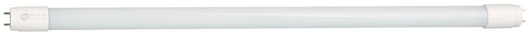Лампа светодиодная REV, холодный свет, цоколь G13, 10W, 6500 K. 32391 432391 4Светодиодная лампа REV используется для освещения помещений. Работает при помощи высокоэффективных планарных светодиодов. Излучает холодный свет. Оснащена универсальным, для такого типа светильников, цоколем G13.Тип лампы: LED.Цоколь: G13.Потребляемая мощность: 10 Вт.Световой поток: 800 Лм.Цветовая температура: 6500 K.Номинальное напряжение: 220-240 В.Свечение: холодный.Диаметр: 2,6 см.Длина: 60 см.Срок службы: 30000 часов.