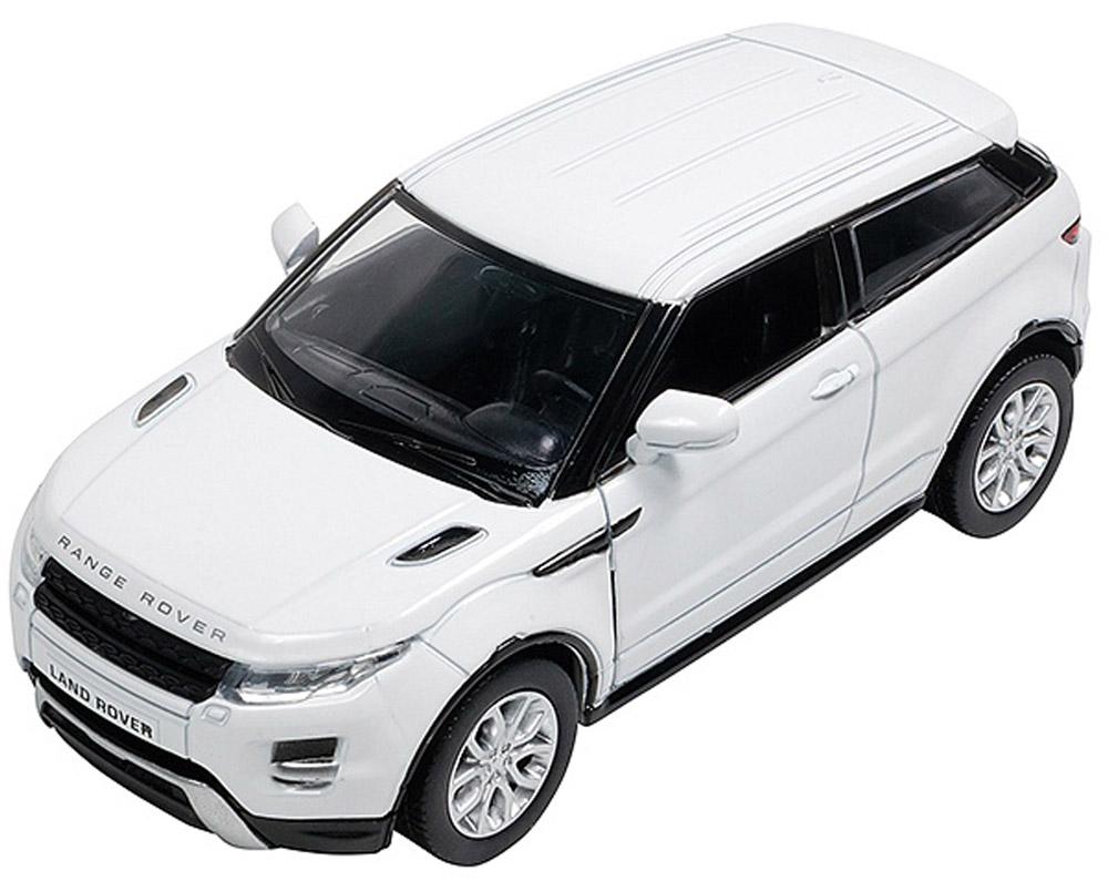 Pitstop Модель автомобиля Range Rover Evoque цвет белый игрушка pitstop land rover range rover sport black ps 554007 bl