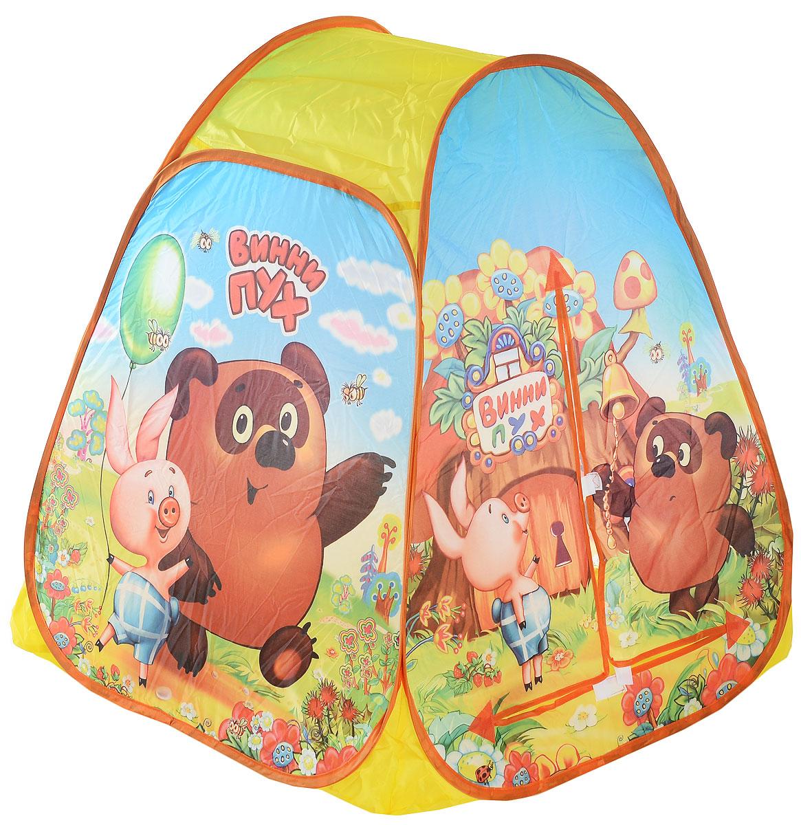 Играем вместе Детская игровая палатка Винни-Пух 81 х 91 х 81 см