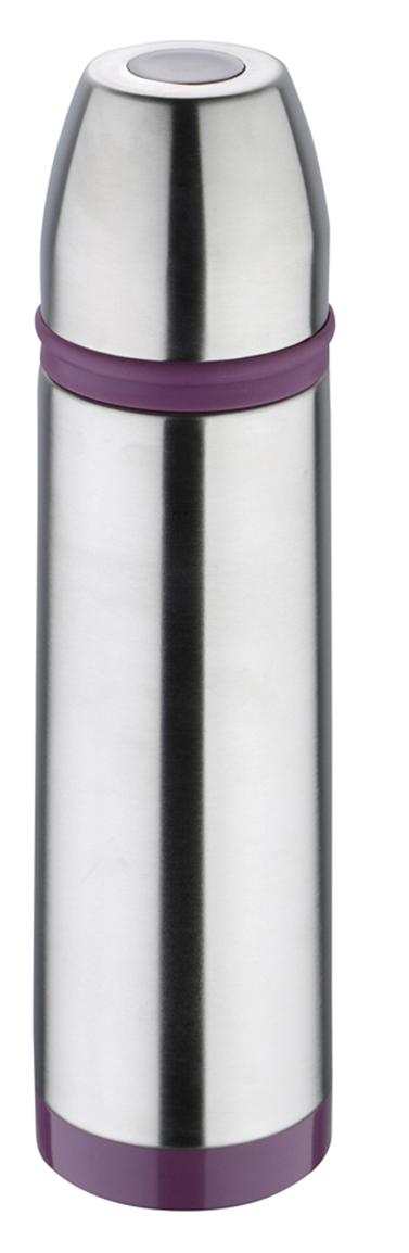 Термос Bergner, 500 мл. 7517 PU-BG115510Термос Bergner Sporty BG-7517-PU серии Sporty отлично подойдет для людей ведущих активный образ жизни. Объем термоса составляет 500 мл. Красивый стильный корпус выполнен из высококачественной нержавеющей стали 18/10 , которая считается одним из лучших материалов для изготовления термосов и столовой посуды. Фиолетовый цвет хорошо сочетается с металлическим корпусом, выгодно отличая этот термос от большинства аналогов.