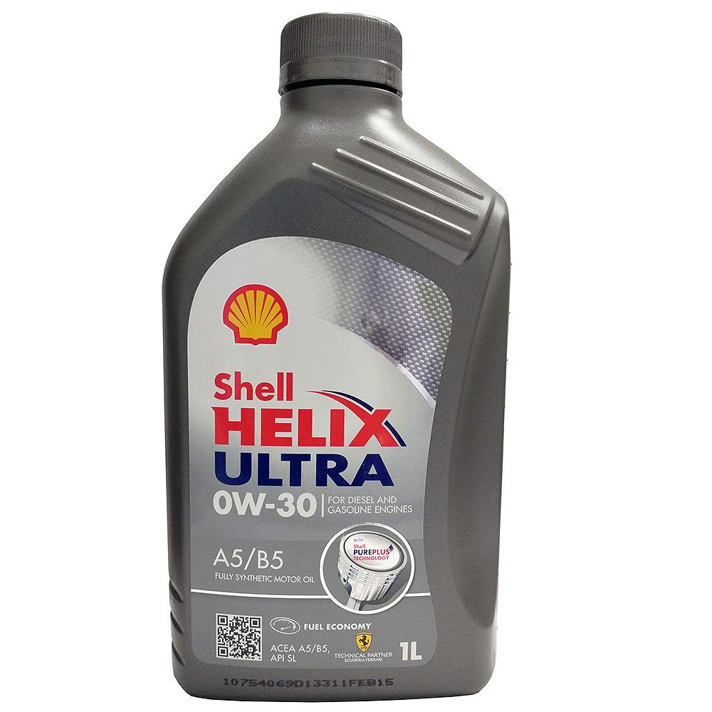 Моторное масло Shell Helix Ultra 0w30, 1 л550040164Полностью синтетическое моторное масло Shell Helix Ultra 0w30 для самых современных двигателей, созданное на основе уникальной технологии Shell PurePlus. Низкая вязкость и низкий коэффициент трения обеспечивают дополнительную экономию топлива до 2,2%. Мощность двигателя и экономия топлива не уменьшаются даже после 100 000 км пробега (согласно результатам эксплуатационных испытаний на расстояние 100 000 км).Допуски и одобрения MB-Approval 226.5, MB-Approval 229.5, Renault RN0700, Renault RN0710, VW 502.00, VW 505.00