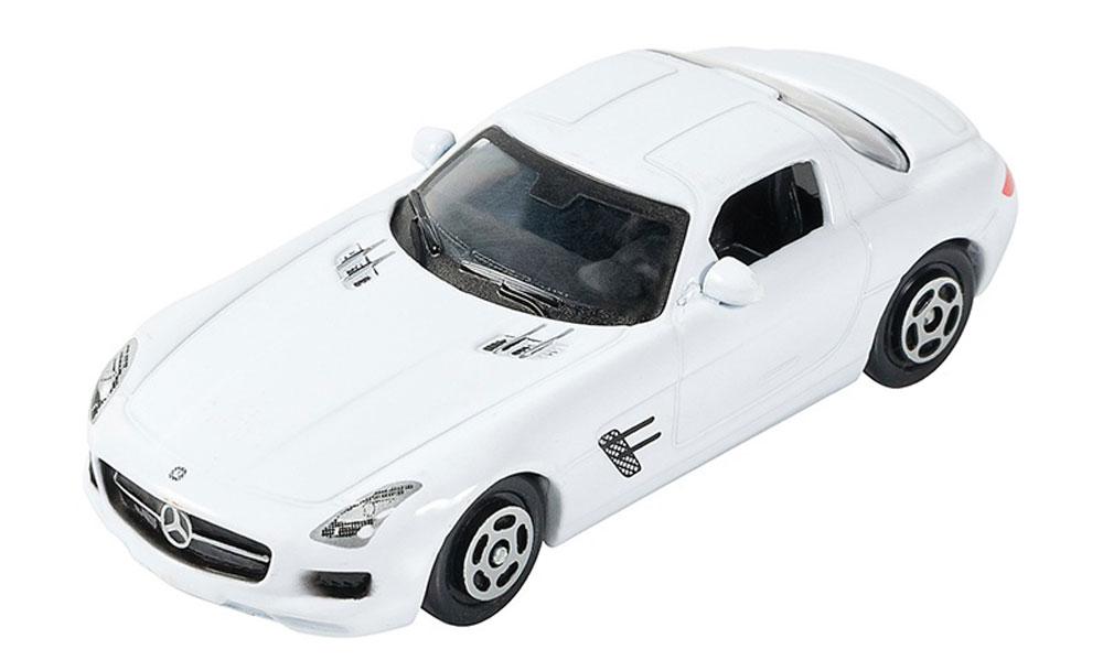 Pitstop Модель автомобиля Mercedes-Benz SLS AMG цвет белый