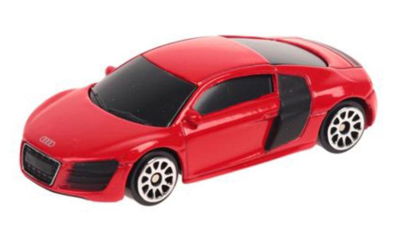 Pitstop Модель автомобиля Audi R8 V10 цвет красный welly модель автомобиля audi r8 v10