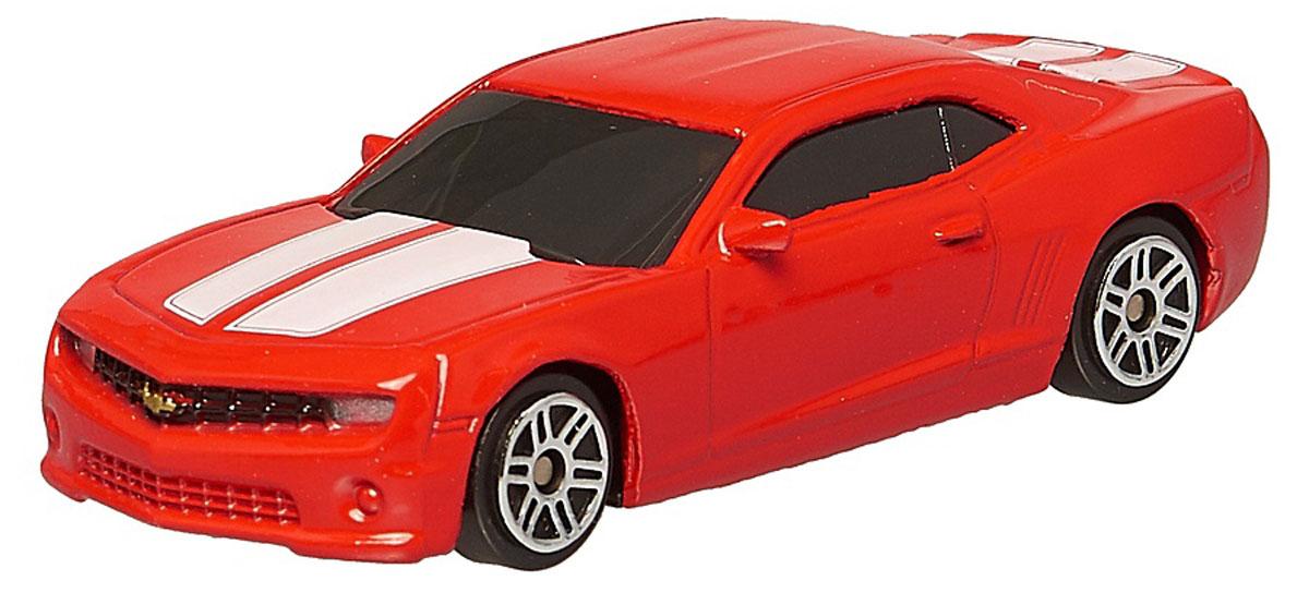 Pitstop Модель автомобиля Chevrolet Camaro цвет красный