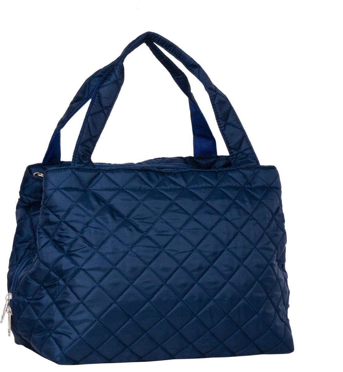 Сумка дорожная Polar Римини, цвет: синий, 25 л. П7077MABLSEH10001Повседневная дорожная сумка Polar Римини выполнена из полиэстера. Сумка имеет 3 отделения, застегивающиеся на застёжку-молнию.