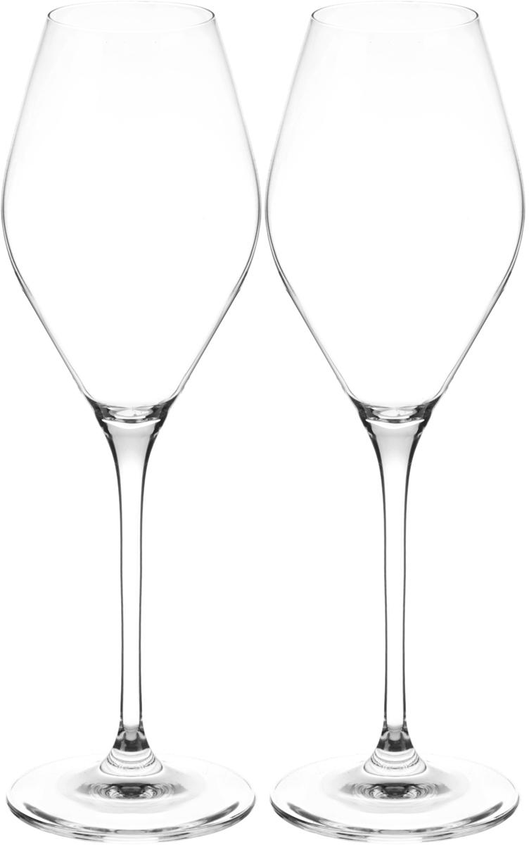 Набор бокалов для вина Wilmax, 440 мл, 2 штVT-1520(SR)Набор Wilmax состоит из двух бокалов, выполненных из стекла. Изделия оснащены высокими ножками и предназначены для подачи вина. Они сочетают в себе элегантный дизайн и функциональность. Набор бокалов Wilmax прекрасно оформит праздничный стол и создаст приятную атмосферу за романтическим ужином. Такой набор также станет хорошим подарком к любому случаю. Бокалы можно мыть в посудомоечной машине.Диаметр бокала по верхнему краю: 5,3 см.Диаметр основания: 8 см.Высота бокала: 25,5 см.