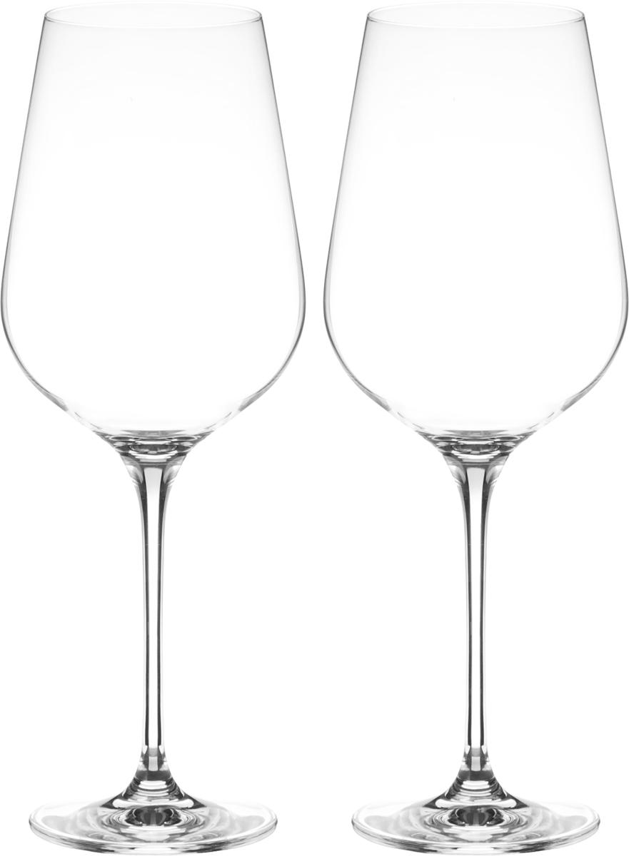 Набор бокалов для вина Wilmax, 780 мл, 2 штWL-888041 / 2CНабор Wilmax состоит из двух бокалов, выполненных из стекла. Изделия оснащены высокими ножками и предназначены для подачи вина. Они сочетают в себе элегантный дизайн и функциональность. Набор бокалов Wilmax прекрасно оформит праздничный стол и создаст приятную атмосферу за романтическим ужином. Такой набор также станет хорошим подарком к любому случаю. Бокалы можно мыть в посудомоечной машине.Диаметр бокала по верхнему краю: 7 см.Диаметр основания: 8,3 см.Высота бокала: 27,5 см.