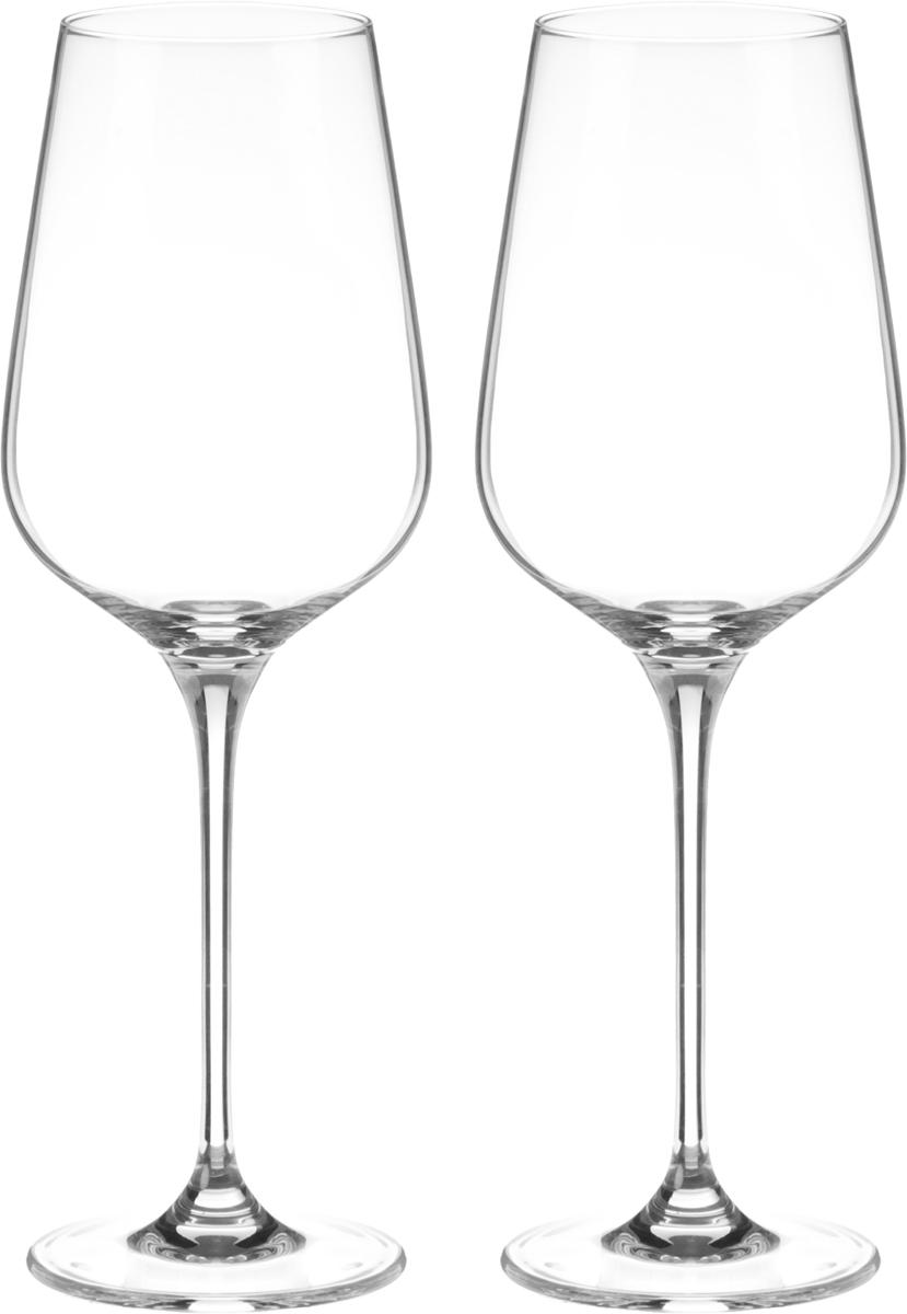 Набор бокалов для вина Wilmax, 550 мл, 2 штVT-1520(SR)Набор Wilmax состоит из двух бокалов, выполненных из стекла. Изделия оснащены высокими ножками и предназначены для подачи вина. Они сочетают в себе элегантный дизайн и функциональность. Набор бокалов Wilmax прекрасно оформит праздничный стол и создаст приятную атмосферу за романтическим ужином. Такой набор также станет хорошим подарком к любому случаю. Бокалы можно мыть в посудомоечной машине.Диаметр бокала по верхнему краю: 6,5 см.Диаметр основания: 8 см.Высота бокала: 26 см.