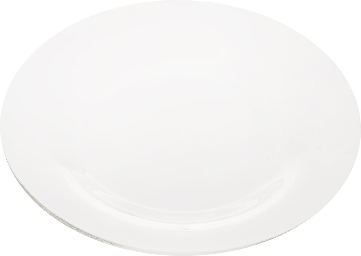 Тарелка десертная OSZ Симпатия, цвет: прозрачный, диаметр 19,5 см115510Тарелка OSZ Симпатия выполнена из прозрачного стекла. Она прекрасно впишется в интерьер вашей кухни и станет достойным дополнением к кухонному инвентарю. Тарелка OSZ Симпатия подчеркнет прекрасный вкус хозяйки и станет отличным подарком.Диаметр тарелки: 19,5 см.Высота: 1,5 см.