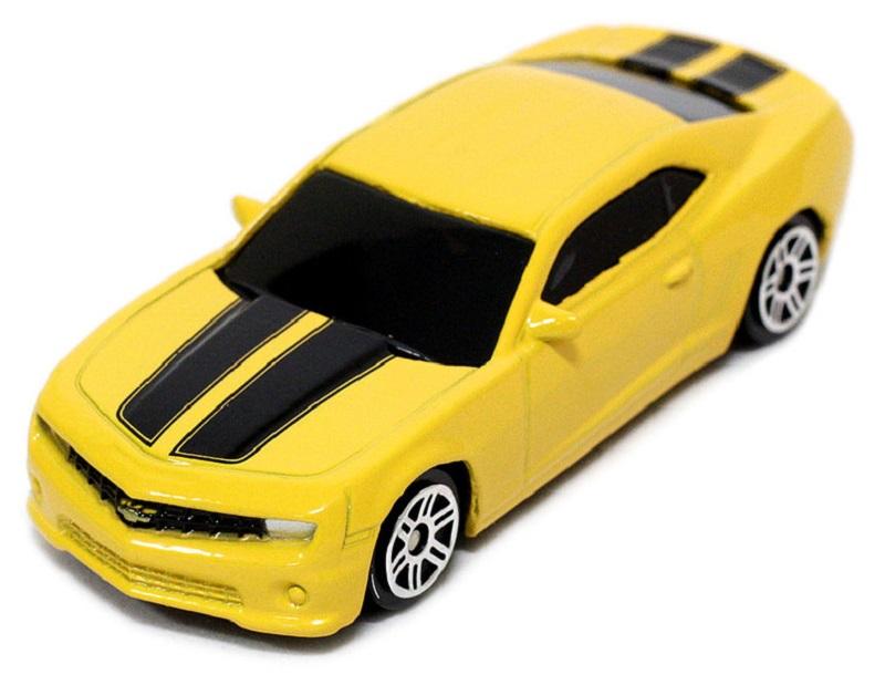 Pitstop Модель автомобиля Chevrolet Camaro цвет желтый