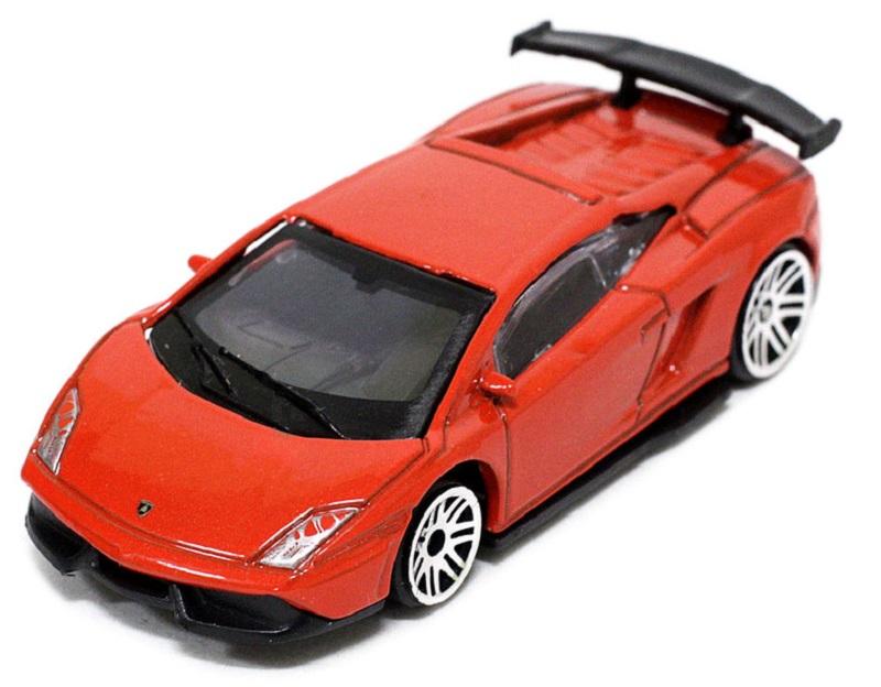 Pitstop Модель автомобиля Lamborghini LP570-4 Super Trofeo Stradale цвет красный