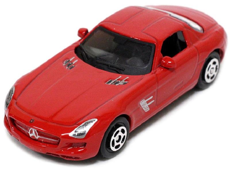 Pitstop Модель автомобиля Mercedes-Benz SLS AMG цвет красный
