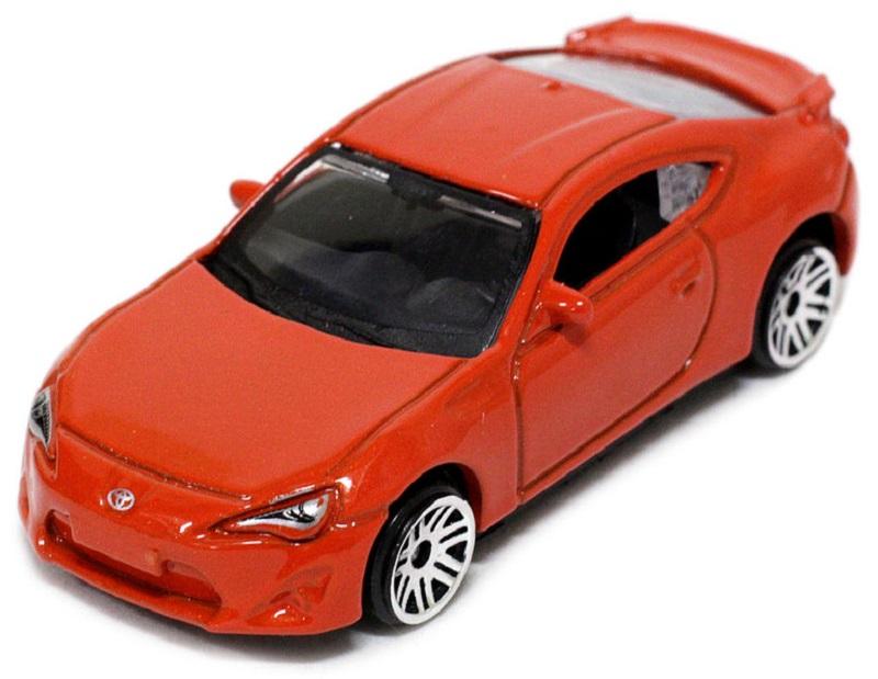 Pitstop Модель автомобиля Toyota GT-86 цвет оранжевый