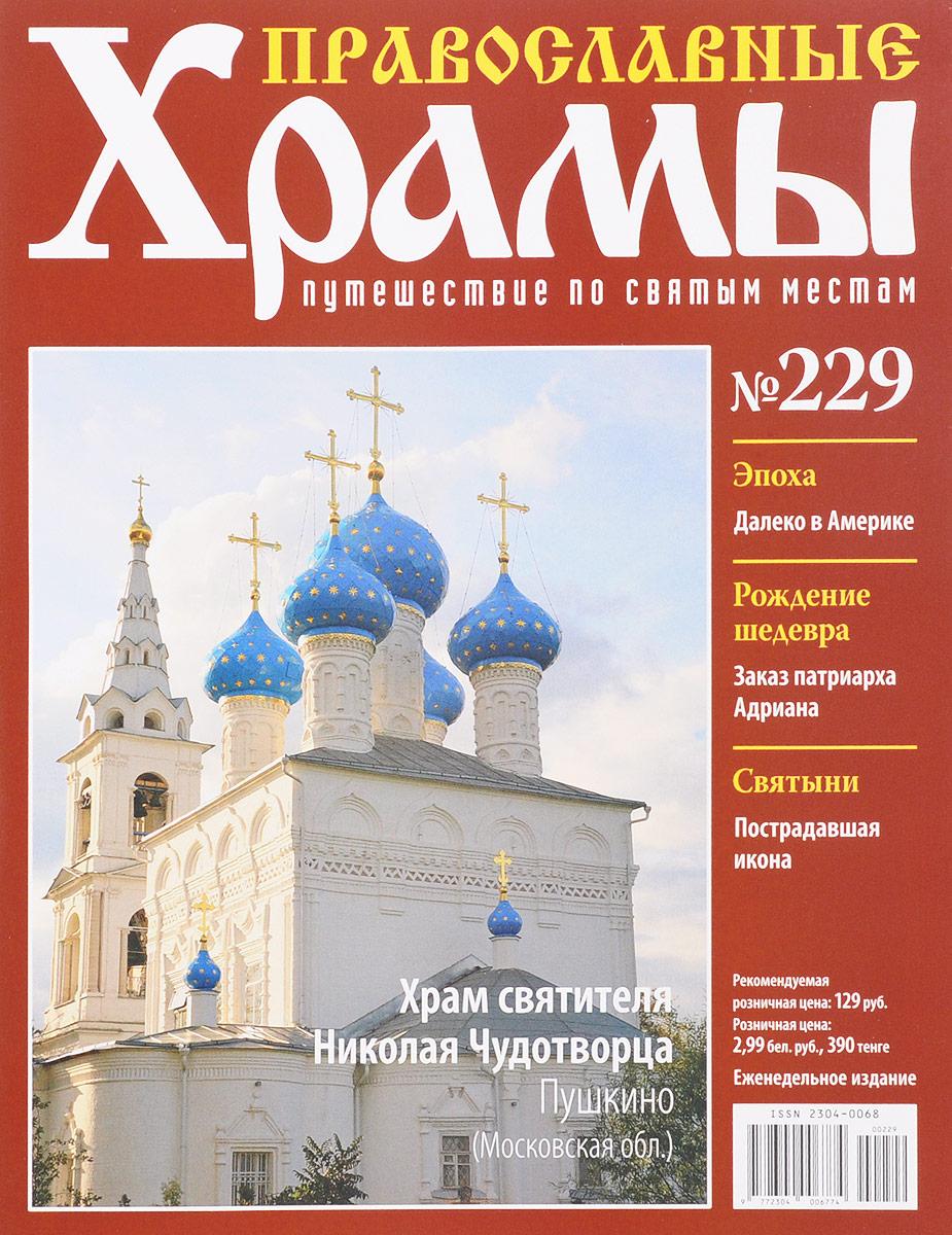 Журнал Православные храмы. Путешествие по святым местам № 229