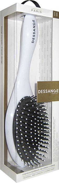 Щетка массажная Dessange, овальная2068-DAMМассажная щетка Dessange незаменима для длинных и средних волос. Обеспечивает деликатный массаж кожи головы, улучшает микроциркуляцию.Идеально гладкая поверхность расчески и зубчиков полностью исключает травмирование волос и кожи головы. Пластик из которого изготовлена щетка, безопасен в использовании, высокоустойчив к истиранию и механическим воздействиям.Характеристики:Материал: пластик. Длина щетки: 25 см. Размер рабочей поверхности щетки: 6 см х 10,8 см. Жесткость щетины: Medium. Размер упаковки: 28 см х 7,5 см х 5,5 см. Производитель: Франция. Изготовитель: Корея. Артикул: 656119.
