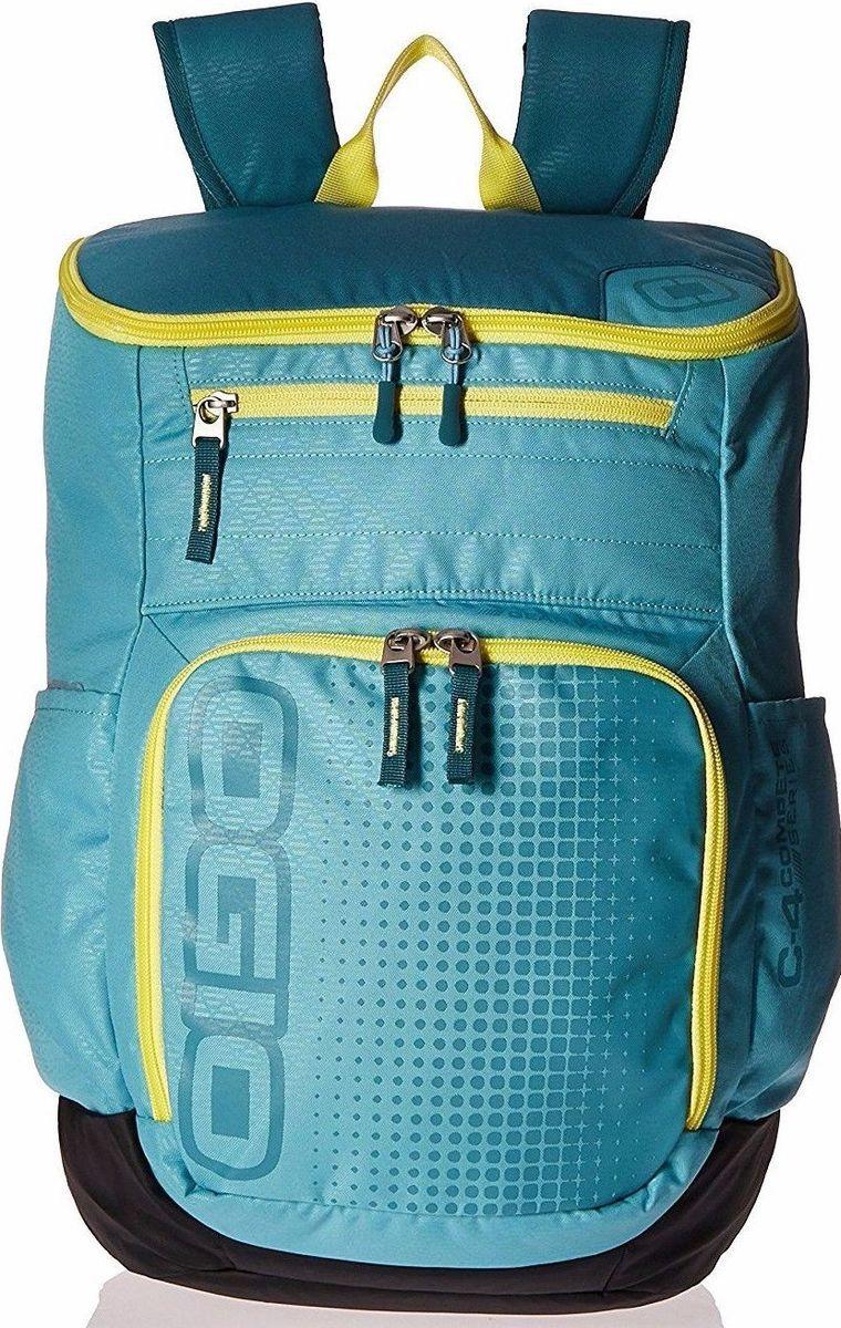 Рюкзак городской OGIO Active. C4 Sport Pack (A/S), цвет: голубой, желтый. 031652226876031652226876Городской рюкзак Active. C4 Sport Pack (A/S) - это удобнейший рюкзак для занятий спортом с огромным основным отделением и несколькими внешними карманами. Туда поместится экипировка практически для любого вида спорта. Рюкзак оснащен ручкой для переноски, двумя регулируемыми плечевыми ремнями. Имеются четыре наружных кармана (два из них на молнии и два - без застежки), одно объемное отделение с застежкой на молнию и три внутренних кармана без застежки.OGIO - высокотехнологичный продукт от американского производителя. Вместимые сумки для путешествий, работы и отдыха, специальная коллекция городских сумок для женщин, жесткие боксы под мелкий инвентарь и многое другое.
