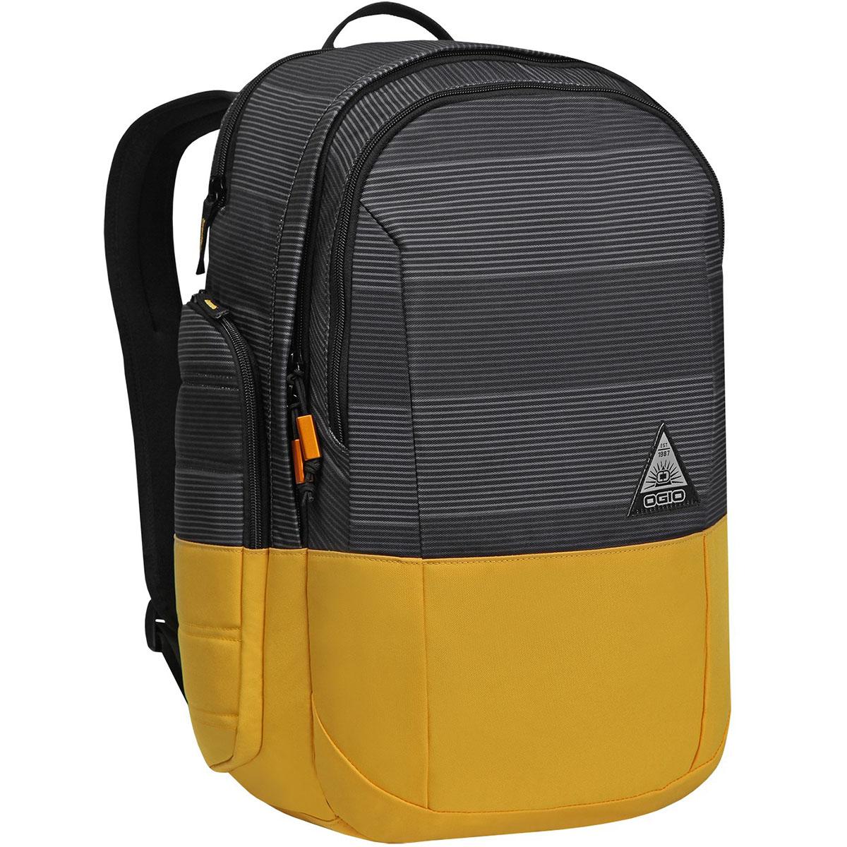 Рюкзак городской OGIO Urban. Clark Pack (A/S), цвет: горчичный, серый. 031652227002Z90 blackСтильный и в то же время функциональный рюкзак от Ogio. Имеются специализированные отсеки для ноутбука и планшета, которые позволят Вам не переживать за сохранность техники. Большое основное отделение вместит все необходимые вещи, а внешние боковые карманы на молнии помогут всегда держать необходимые аксессуары поблизости.