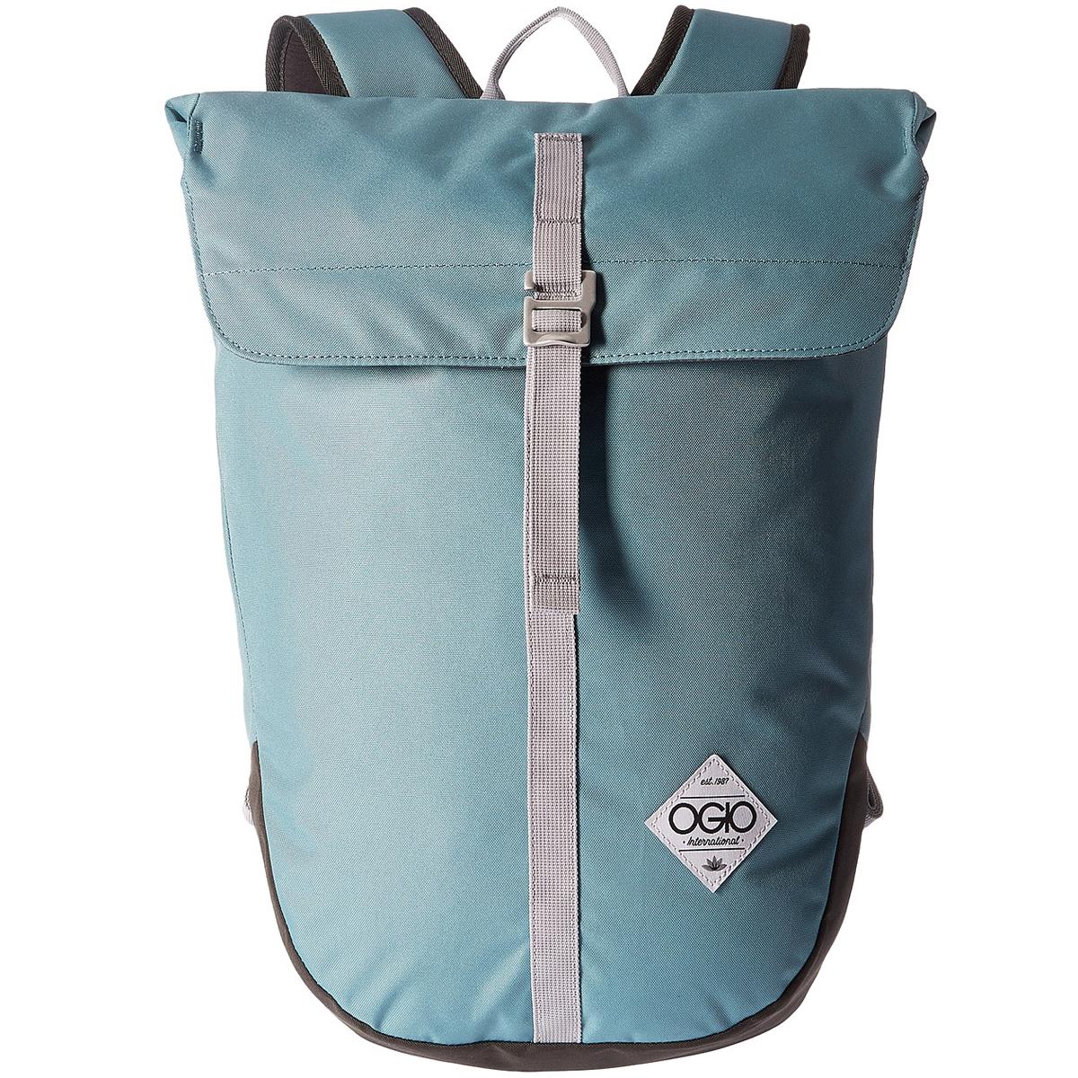 Рюкзак городской OGIO Active. Dosha Pack (A/S), цвет: голубой. 031652227569Z90 blackКомпактный женский рюкзак с уплотненным отделением для ноутбука до 15 дюймов. Оригинальная конструкция рюкзака совершенно не содержит молнии, а основное отделение закрывается клапаном с пряжкой. Стеганая задняя панель и плотные эргономичные лямки обеспечат комфорт во время переноски, сняв лишнюю нагрузку со спины, а стильный дизайн рюкзака позволит ему стать важной частью Вашего повседневного лука.