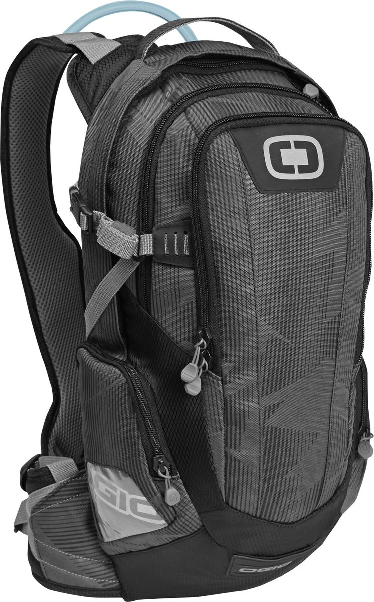 Рюкзак спортивный OGIO Moto. Dakar 100 Hydration Pack (A/S), цвет: темно-серый. 031652237797031652237797Спортивный рюкзак OGIO Moto. Dakar 100 Hydration Pack (A/S) - это рюкзак с внутренним объемом 12 литров с питьевой системой, представляющей собой встроенный резервуар-гидратор объемом 3 литра в сочетании с трубкой с клапаном. Аксессуар входит в линейку рюкзаков Hydration Pack и предназначен для спортсменов: бегунов, велосипедистов, мотоциклистов и т. д. OGIO - высокотехнологичный продукт от американского производителя. Вместимые сумки для путешествий, работы и отдыха, специальная коллекция городских сумок для женщин, жесткие боксы под мелкий инвентарь и многое другое.