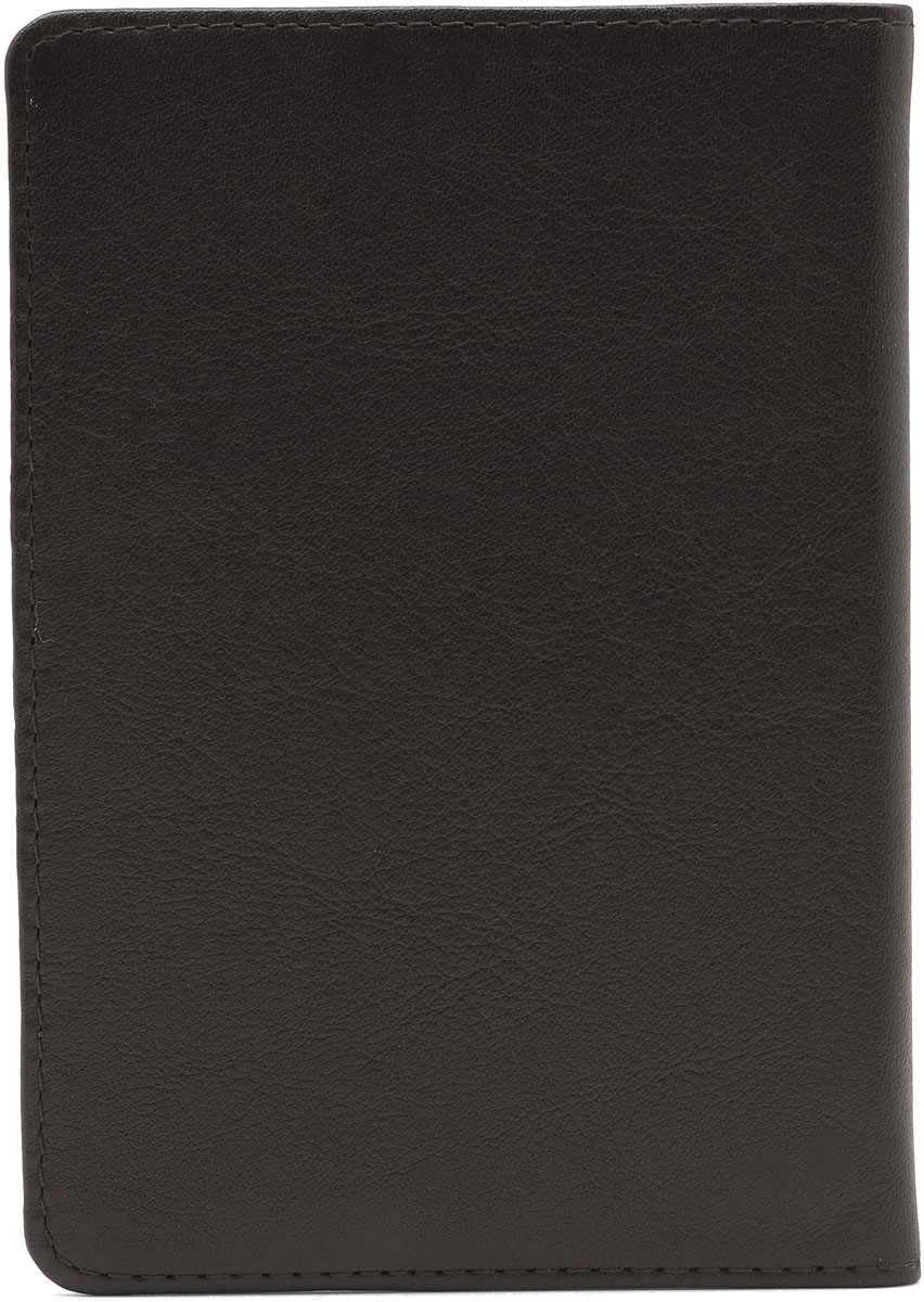 Обложка для паспорта Soltan, цвет: темно-коричневый. 011 01 03 - Обложки для паспорта