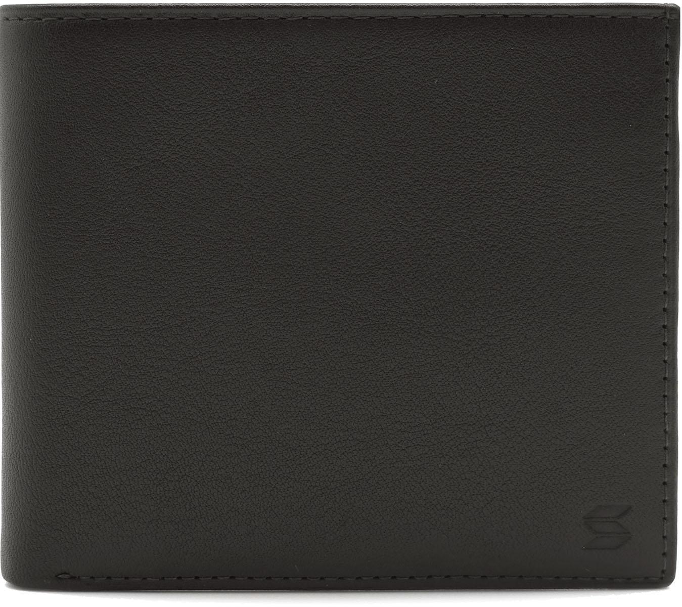 Портмоне мужское Soltan, цвет: темно-коричневый. 100 01 03INT-06501Портмоне Soltan выполнено из натуральной кожи. Модель имеет два отделения для купюр, отделение для мелочи и 3 кармашка для карточек.