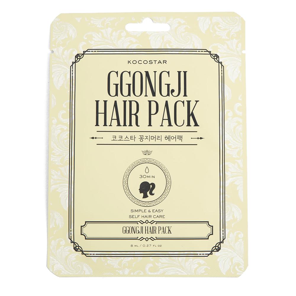 Kocostar Восстанавливающая маска для поврежденных волос Конский хвост, 8 мл/ Ggongji Hair PackFS-54114НЕТ секущимся кончикам! Чрезвычайно эффективный уход для поврежденных и ослабленных волос. Формула несмываемой маски обогащена полезными микроэлементами и экстрактами. Драгоценные масла Арганы и Оливы глубоко напитают волосы, а протеины Кератина восстановят их структру, придавая им гладкость и роскошный блеск. Удобная упаковка-пакет в форме «конского хвоста» , пропитанная изнутри средством, делает процедуру удобной и комфортной.