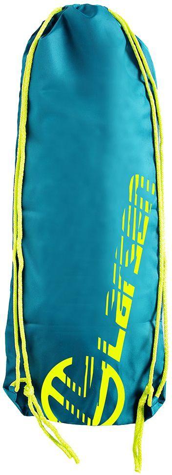 Сумка для мини-круизера Larsen, цвет: ярко-голубой, 63 х 26 см сумка велосипедная larsen 16 см х 13 см х 11 см