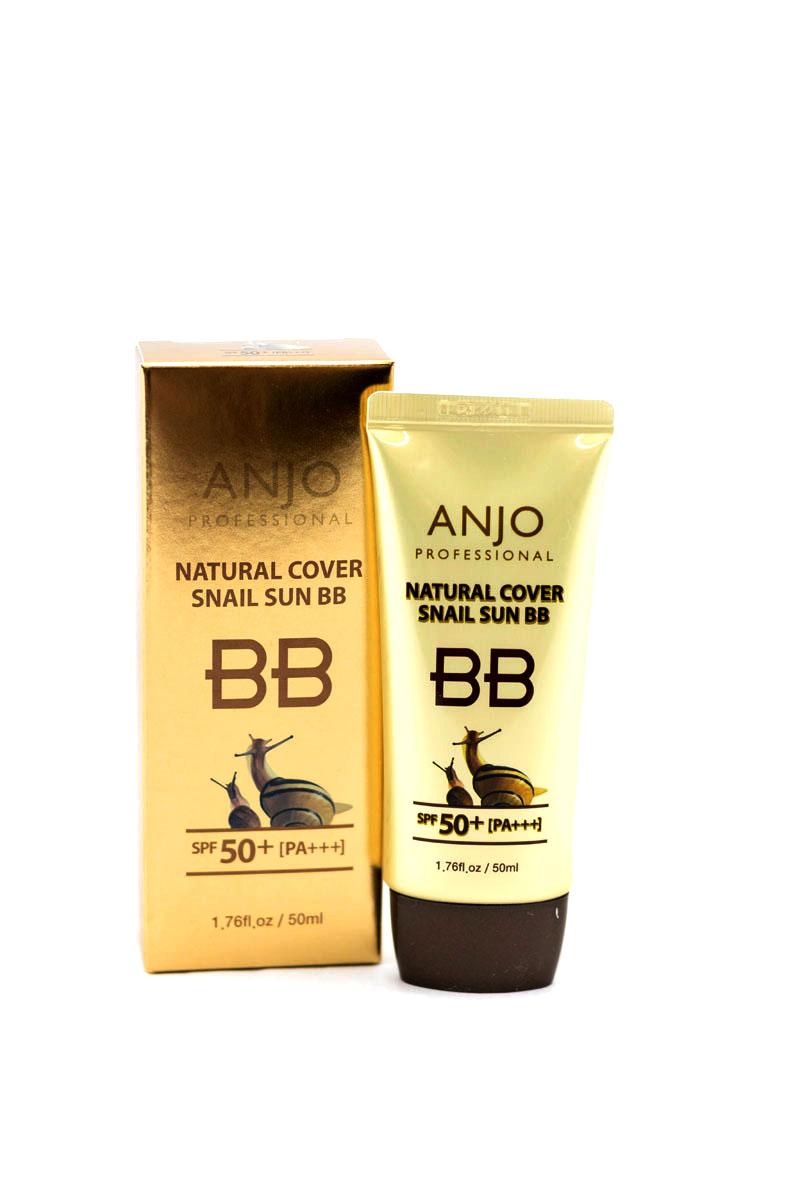 Anjо Professional ББ-крем с высоким содержанием муцина улитки SPF 50, PA +++, 50 мл289182