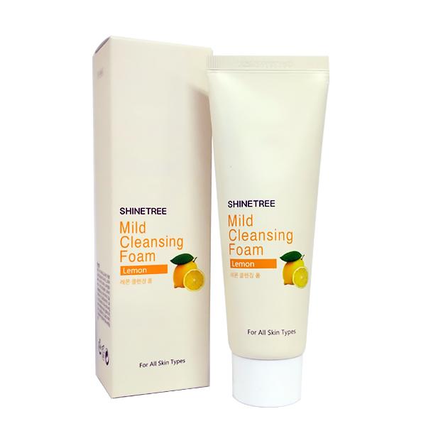 Shinetree Мягкая очищающая пенка с экстрактом лимона Шайнтри Mild Cleansing Foam – Lemon- , 80 мл647506