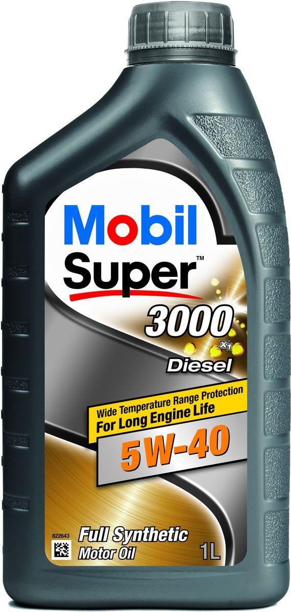 Масло моторное Mobil Super 3000 X1 Diesel GSP, класс вязкости 5W-40, 1 л80621Mobil Super 3000 X1 Diesel GSP - это полностью синтетическое моторное масло, обеспечивающее длительный срок эксплуатации двигателей в автомобилях различных типов и годов выпуска, а также повышенный уровень их защиты в широком диапазоне температур.Mobil Super 3000 X1 Diesel GSP обеспечивает:- надежную защиту при повышенных температурах;- улучшенные смазывающие свойства при холодном пуске;- хорошую чистоту двигателя и защиту от образований отложений и шлама;- защиту двигателя от износа.Super 3000 X1 Diesel GSP разработаны таким образом, чтобы предоставить дополнительный уровень защиты по сравнению с минеральными и полусинтетическими маслами. Масло рекомендует применять, когда регулярно возникают сложные условия вождения, чтобы предотвратить повреждения от интенсивных и частых нагрузок в:- дизельных двигателях различных конструкций без сажевых фильтров (DPF);- легковых автомобилях, внедорожниках, малотоннажных грузовиках и микроавтобусах;- при вождении в загородных условиях, а также городских с частыми остановками;- при обычных условиях эксплуатации и при движении с перегрузками;- в двигателях с турбонаддувом и с прямым впрыском топлива.Товар сертифицирован.