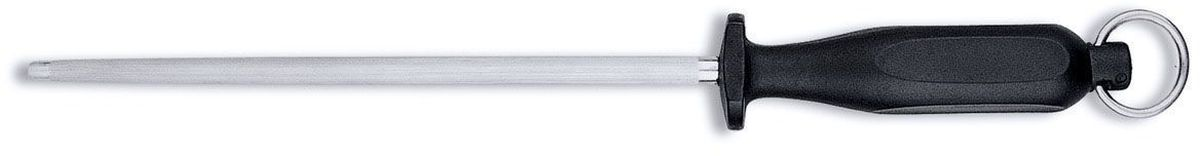 Мусат BergHOFF Orion, цвет: металлик-черный, длина прутка 25,5 см115510Мусат BergHOFF Orion отлично подходит для профессионального затачивания ножей. Мусат используется для правки режущей части кромки, что увеличивает остроту резки лезвия. Он поможет поддерживать ваши ножи в хорошем рабочем состоянии и не потребуют заточки ножа, так как заточка снимает часть металла с лезвия ножа, что сокращает срок службы. Удобный в использовании, безопасный и долговечный. Очень легкий. Ручка выполнена из прочного пластика.Рекомендуется мыть вручную.Общая длина мусата: 39 см.Длина рабочей части мусата: 25,5 см.