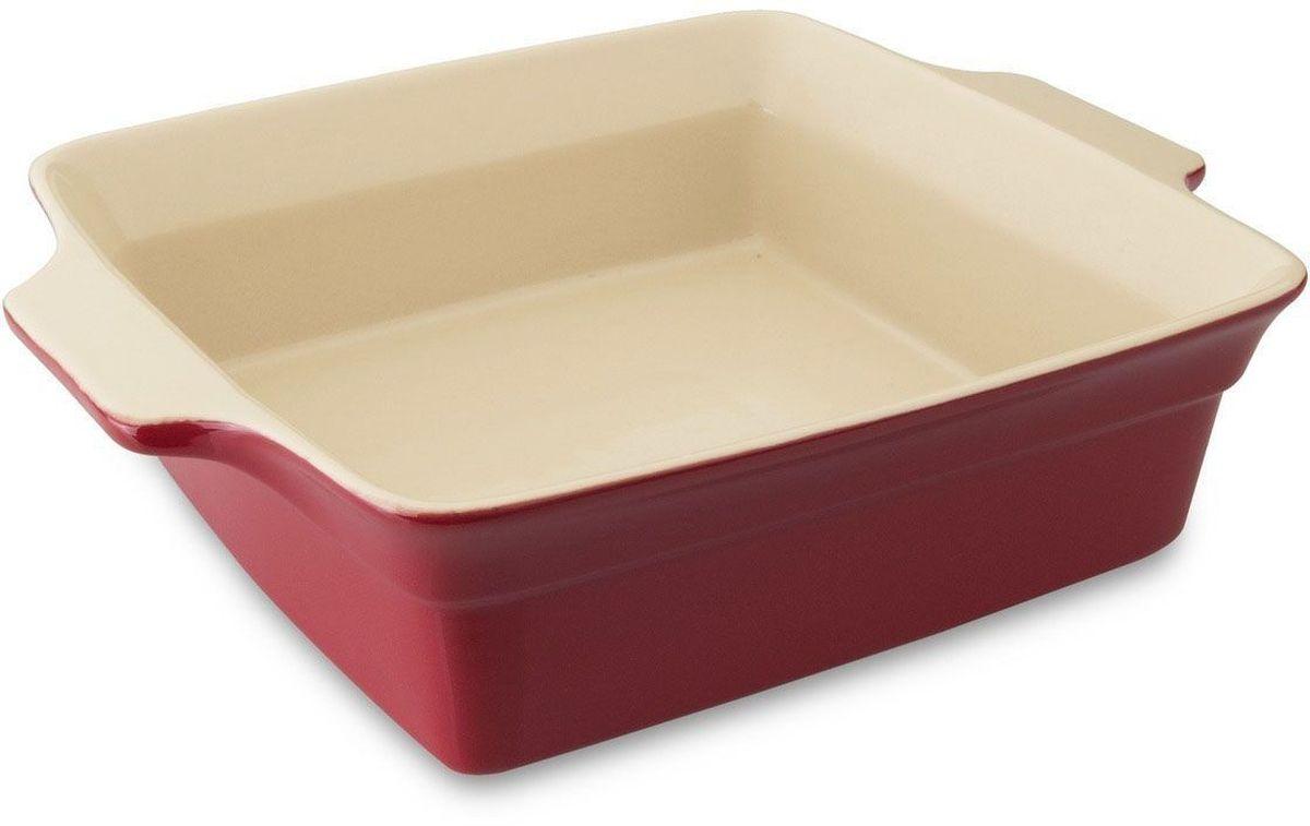Блюдо для запекания BergHOFF Geminis, квадратное, 27 х 22,5 х 7,5 см. 169516754 009312Блюдо для запекания BergHOFF Geminis из высококачественной керамики. Выдерживает температуру до 250 градусов по Цельсию. Дизайн позволяет, как готовить блюда, так и подавать на стол. Ручки обеспечивают комфортное удержание формы.