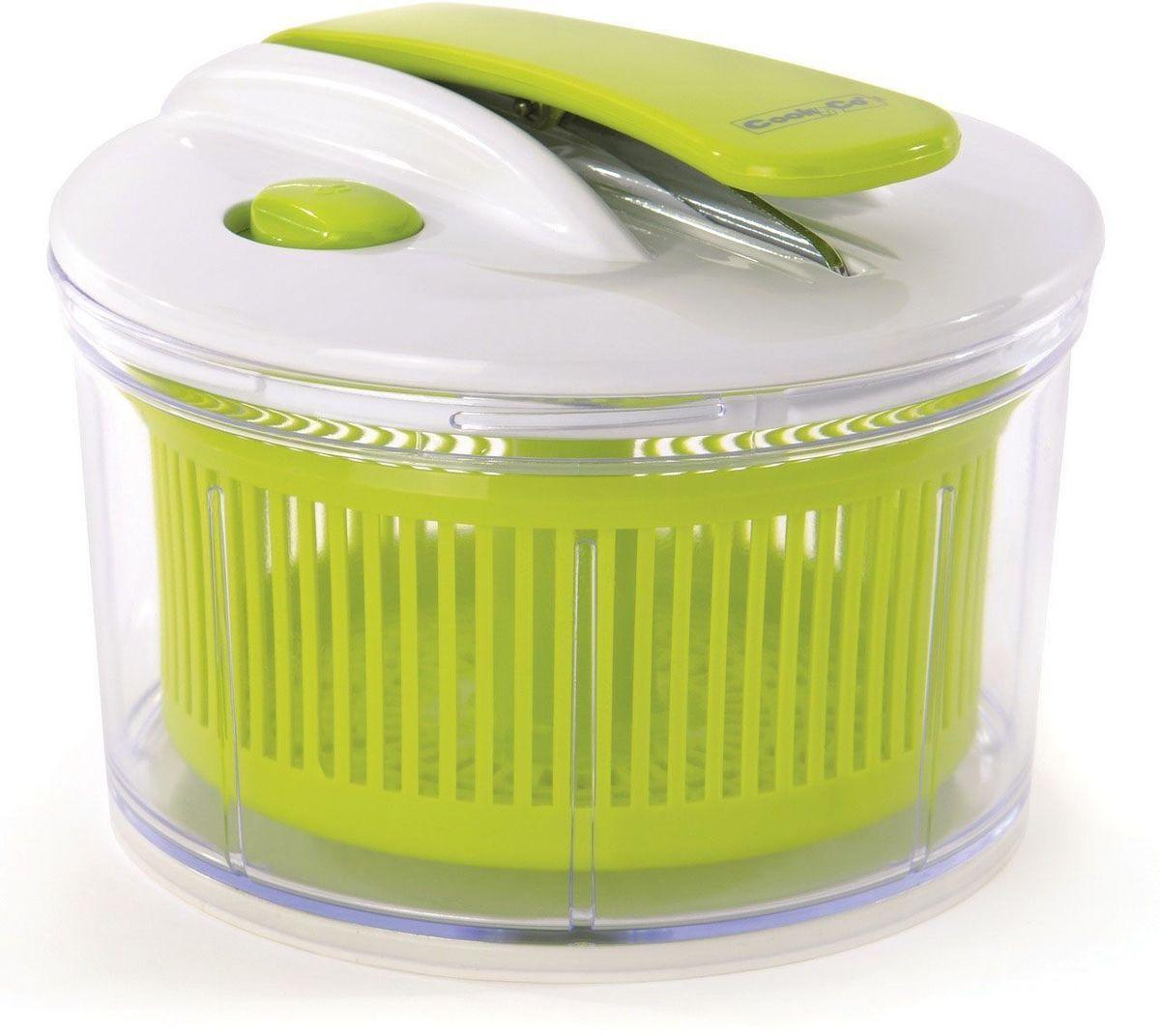 Сушилка для салата BergHOFF Cook&Co54 009312Сушилка для салата BergHOFF Cook&Co поможет вам в приготовлении полезных и вкусных салатов. Изделие выполнено из высококачественного пластика. Оно сушит овощи в считанные секунды, просто вымойте овощи или зелень, поместите внутрь. Нажимая на ручку, вы приводите в действие внутреннее сито, создается центрифуга, и вся влага оседает на стенках контейнера. Сушилка имеет кнопку блокировки, удобно собирается и разбирается. Резиновое основание предотвращает скольжение. Прозрачная миска может быть использована как салатник, а внутреннее сито - для слива всех продуктов. Подходит для мытья в посудомоечной машине.