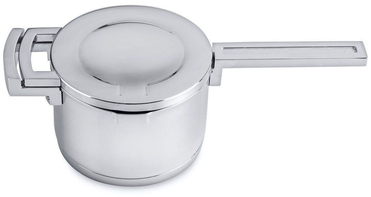 Ковш BergHOFF Neo с крышкой, 1,9 л54 009312Ковш BergHOFF Neo, выполненный из высококачественной нержавеющей стали, снабжен крышкой, которая плотно закрывает ковш, удерживая естественную влагу и соки ингредиентов внутри. Зеркальная полировка обеспечивает превосходные антикоррозионные свойства материала, чистоту и гигиену, а также облегчает чистку. При повороте крышки открывается сливное отверстие, а совмещенные ручки крышки и корпуса делают слив удобным и безопасным. Подходит для любых типов плит, включая индукционные. Можно мыть в посудомоечной машине.