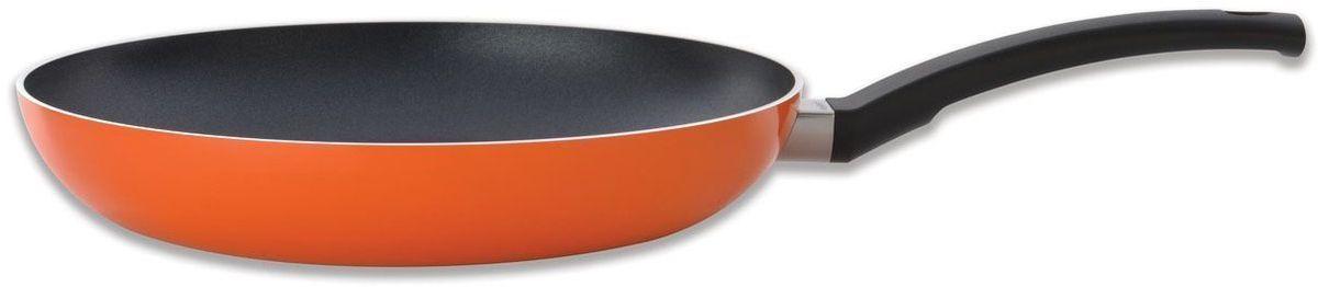 Сковорода BergHOFF Eclipse, 2,3 л, 28 см, цвет: оранжевый. 3700165HP-20-IСковорода BergHOFF Eclipse - это высокое качество и современный дизайн. В данную серию входят сковородки, кастрюли и сотейники, оформленные в ярких сочных тонах. Корпус посуды выполнен из высококачественного алюминия с антипригарным покрытием Ferno Green, не содержащим PFOA. Равномерно нагревающееся дно обладает высокой теплопроводностью. Ручки не нагреваются, так как выполнены из феноло-альдегидного полимера. Посуда подходит для всех типов плит, включая индукционные.