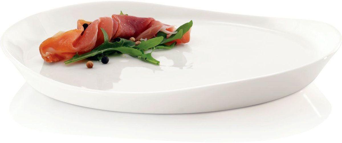 Набор тарелок BergHOFF Eclipse, цвет: белый, 20 см х 22 см, 4 шт115510Набор тарелок BergHOFF Eclipse состоит из 4 тарелок одного диаметра. Изделия выполнены из минерального, экологически чистого сырья - фарфора, покрытого высококачественной глазурью.Такой набор станет изысканным украшением стола.Диаметр тарелки: 22 см х 20 см. Высота бортиков тарелки: от 1,5 см до 2,5 см.