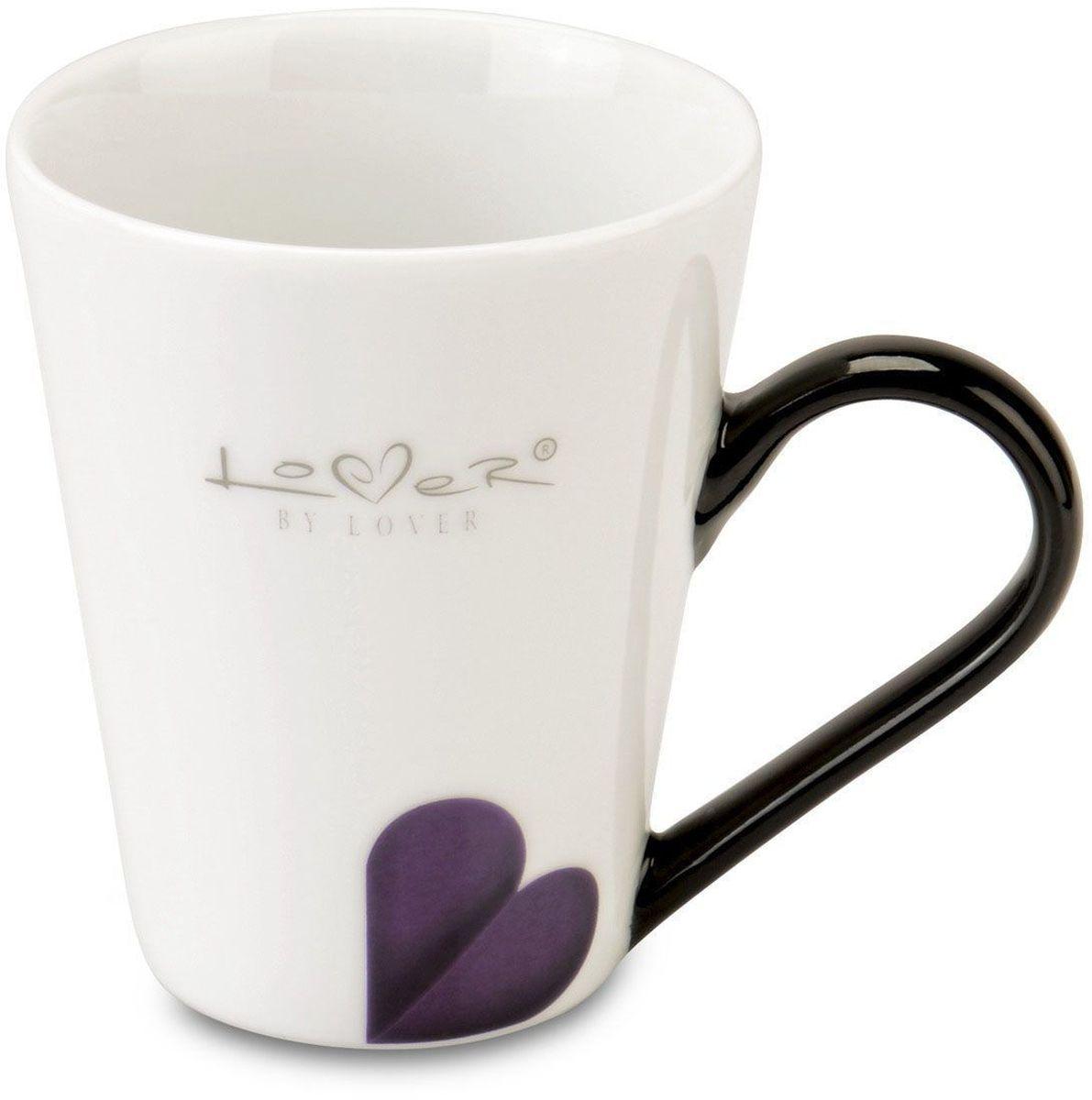 Набор кружек BergHOFF Lover by Lover, 250 мл, 2 шт115610Набор BergHOFF Lover by Lover состоит из двух кружек с ручками, выполненных из высококачественного фарфора. Изделия можно мыть в посудомоечной машине.Подходят для использования в микроволновой печи. Диаметр кружки (по верхнему краю): 8 см. Объем кружки: 250 мл.В комплекте: 2 кружки.