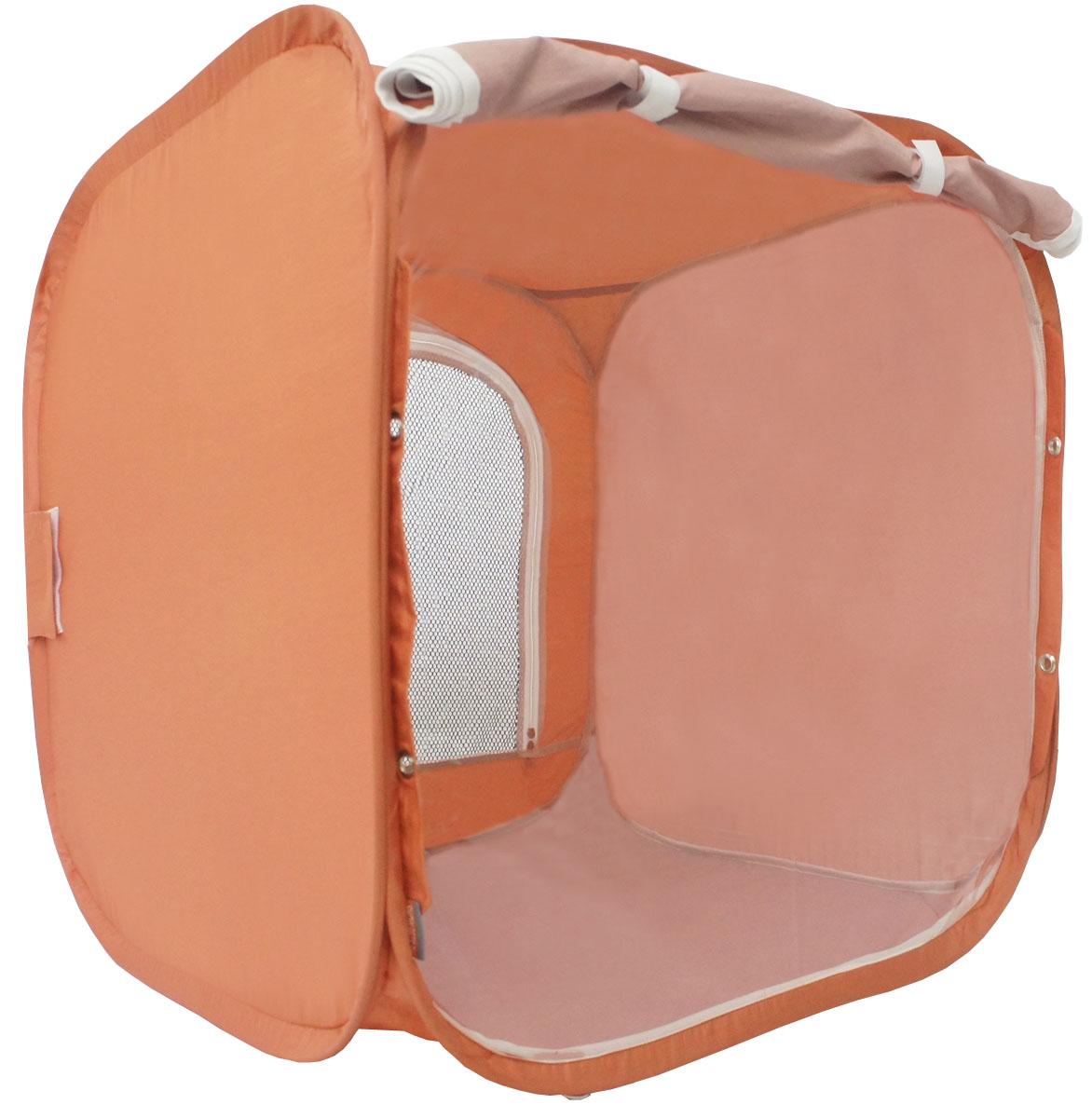 Палатка для выставки животных Шоу-Петс, цвет: корица, 60 х 60 х 60 см. ПВЛ1K0120710Палатка Шоу-Петс разработана профессиональными заводчиками для тех, кто хочет перемещаться и выставляться со своими питомцами легко и комфортно.Палатка разворачивается и сворачивается за 30 секунд. Экран палатки выполнен из суперпрозрачной пленки, шторка по желанию может опускаться и полностью закрывать экран от взглядов посетителей выставки.Палатка сворачивается восьмеркой в компактный блинчик и убирается в компрессионный чехол (в комплекте).Также в комплекте к палатке предусмотрены ремни для крепления к столу, а так же ими удобно фиксировать палатку в поезде на верхней полке или в машине.Со стороны заводчика расположен большой удобный вход в палатку на молнии, бегунки молнии фиксируются крепежом, не позволяющим животному самостоятельно открыть вход и выбраться из палатки.В скрученном виде палатка практически не занимает места в багаже и не ощущается по весу. Данный размер палатки предназначен для комфортного размещения на выставке одного животного среднего размера.Материал палатки очень прочный и устойчивый на разрыв.
