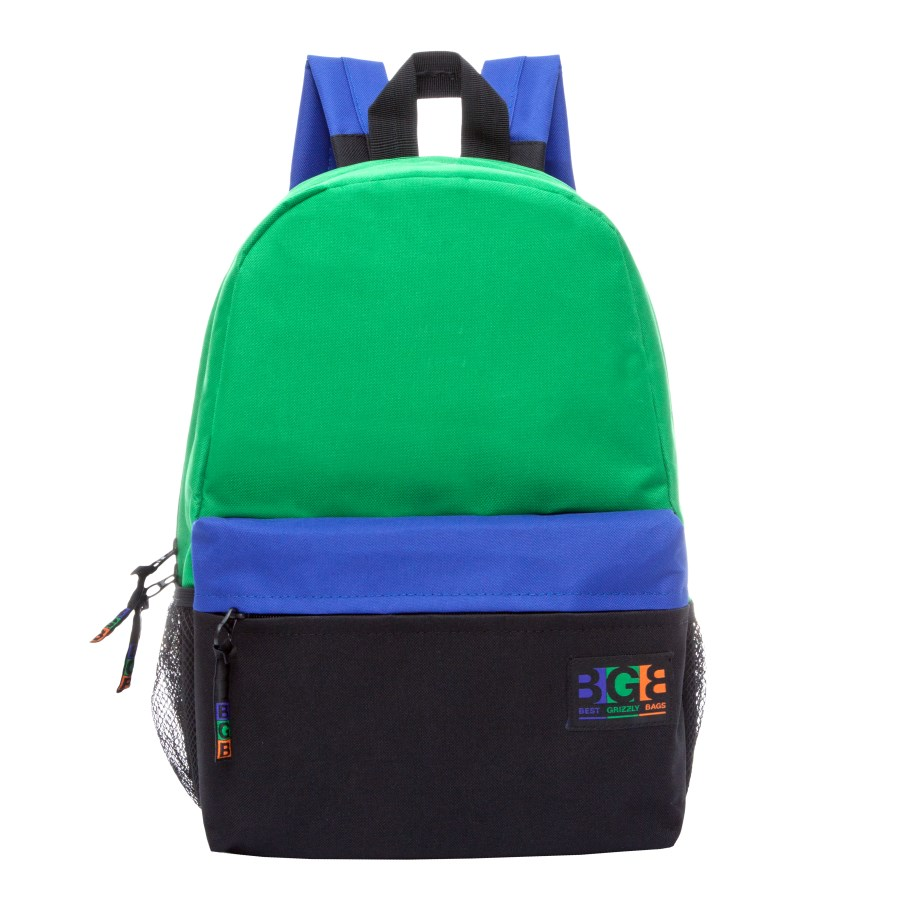Рюкзак городской женский Grizzly, цвет: зеленый, черный, синий. RD-750-5/2MABLSEH10001Молодежный рюкзак Grizzl выполнен из высококачественного нейлона в сочетании с полиэстером. Рюкзак имеет ручку-петлю для подвешивания и две удобные лямки, длина которых регулируется с помощью пряжек. Модель выполнена с одним основным отделением на молнии, которое дополнено внутренним карманом на молнии. Передняя сторона оформлена объемным карманом на застежке-молнии. По бокам рюкзак оснащен карманами из сетки. Тыльная сторона рюкзака имеет карман быстрого доступа и укрепленную спинку.