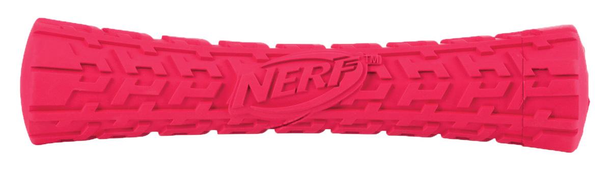 Игрушка для собак Nerf Палка, с пищалкой, цвет: красный, 17,5 см101246Игрушка в форме палки с пищалкой Nerf имеет уникальный рисунок протектора шины.Она изготовлена из сверхпрочной резины, что обеспечивает долговечность использования. Подходит для собак с самой мощной челюстью. Оптимальна как для игры с вашим питомцем, так и для отработки команды Апорт.Размер: 17,5 см.