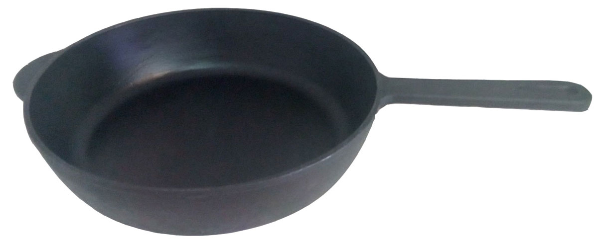 Сковорода чугунная Эколит. Диаметр 28 смЭК2860л