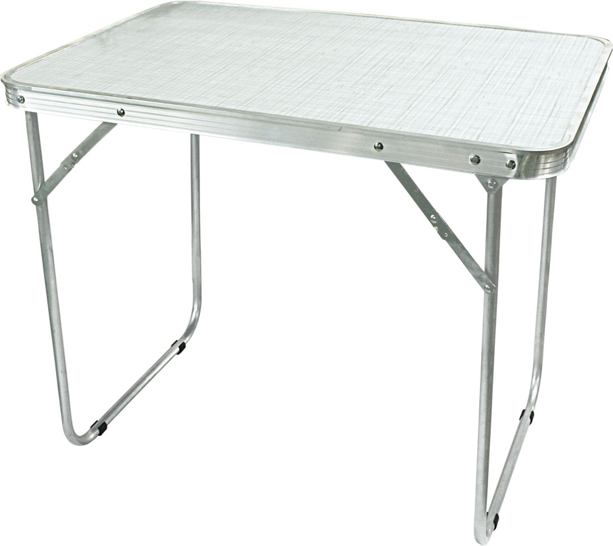 Стол складной Woodland Camping Table Light, цвет: белый, стальной, 70 x 50 x 60 см