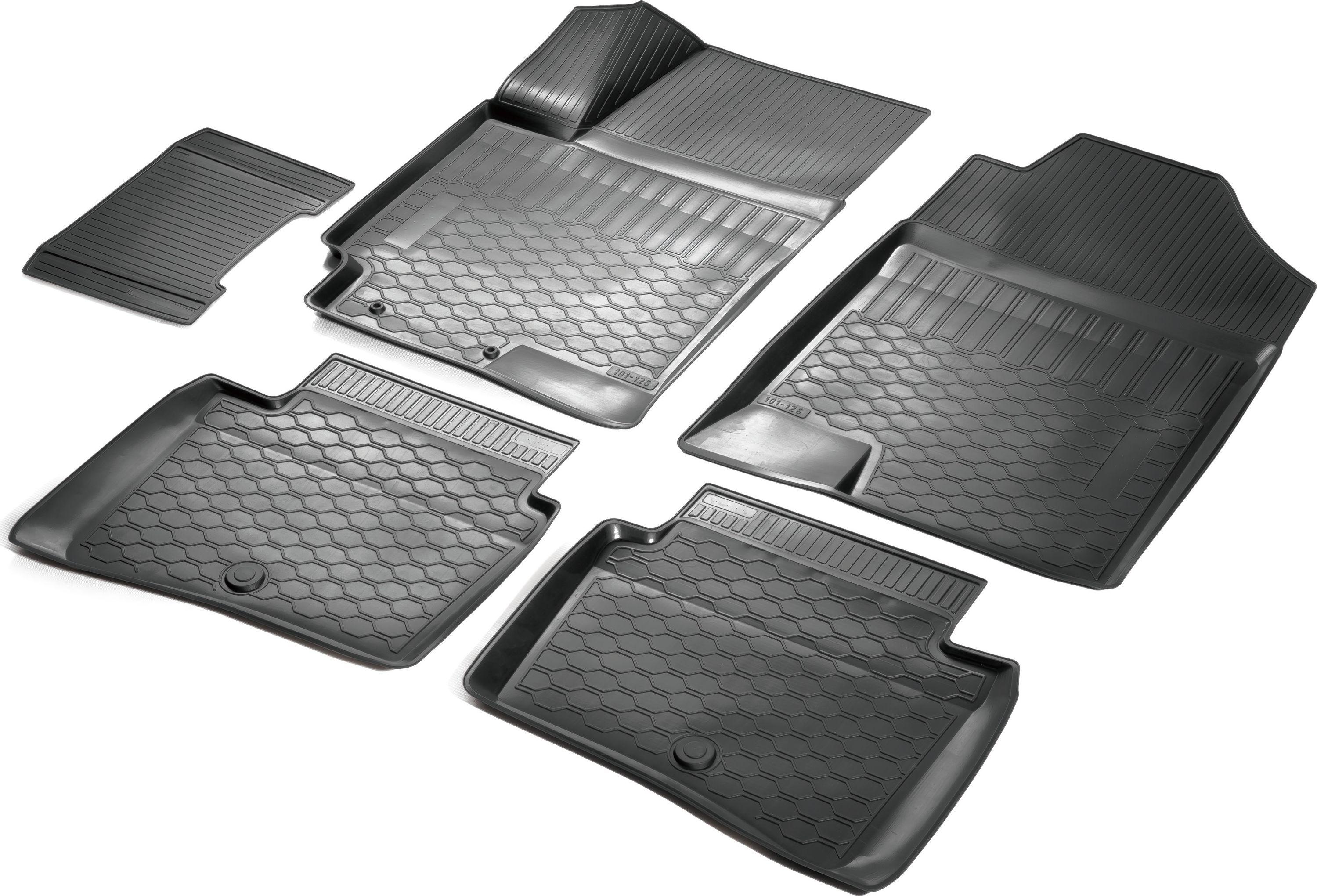 Коврики салона Rival для Hyundai Solaris (SD) 2017-/ Kia Rio (SD) 2017-, c перемычкой между задними ковриками, полиуретанст18фПрочные и долговечные коврики Rival в салон автомобиля, изготовлены из высококачественного и экологичного сырья. Коврики полностью повторяют геометрию салона вашего автомобиля.- Надежная система крепления, позволяющая закрепить коврик на штатные элементы фиксации, в результате чего отсутствует эффект скольжения по салону автомобиля.- Высокая стойкость поверхности к стиранию.- Специализированный рисунок и высокий борт, препятствующие распространению грязи и жидкости по поверхности коврика.- Перемычка задних ковриков в комплекте предотвращает загрязнение тоннеля карданного вала.- Коврики произведены из первичных материалов, в результате чего отсутствует неприятный запах в салоне автомобиля.- Высокая эластичность, можно беспрепятственно эксплуатировать при температуре от -45°C до +45°C. Уважаемые клиенты! Обращаем ваше внимание, что коврики имеют форму, соответствующую модели данного автомобиля. Фото служит для визуального восприятия товара.